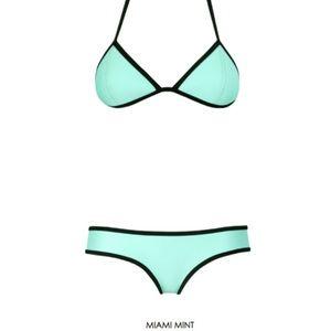 Miami Mint Triangl bikini